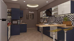Kitchen With Dining Design