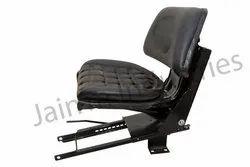 Black Glossy Powder Coated Mahindra Tractor Seat Sliding