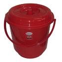 Water Plastic Bucket with Lid