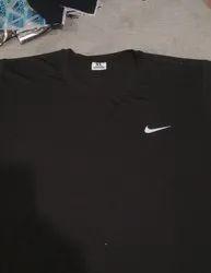 Black Hosiery Man T Shirt, Size: M