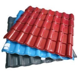 PVC Laminated GI Sheets - Red PVC Coated Aluminum Sheets