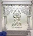 White Marble Radha Krishna Temple