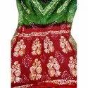 Ladies Bandhani Art Silk Saree