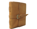 Buckle Closure Designer Leather Journal