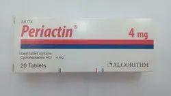 Periactin Cyproheptadine Tablets