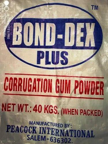 BOND-DEX Plus CORRUGATION GUM POWDER - FOR AUTOMATIC PLANT