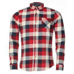 Mens Full Sleeve Check Casual Shirt