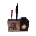 Gemstone Pen Cum Visiting Card Holder