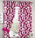 Window Pink Curtain