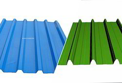 Stainless Steel Colour Coated Roofing Sheets, Dimensions (LxW): 1-40 Feet
