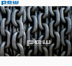 Heavy Duty Open Link Chain, Size/Capacity: 20mm To 150mm Rod Thickness