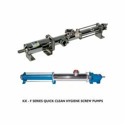 KX-F Series Quick Clean Hygiene Screw Pumps