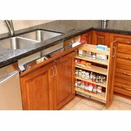 Diy Modular Kitchen: Brown Modular Kitchen Drawer, Rs 1500 /square Feet, ARRR