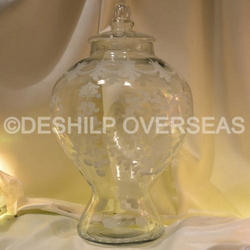 Clear Designer Jar