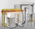 100 kV Automatic Powder Coating System