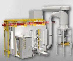 100 kV Automatic Powder Coating System