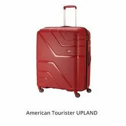 American Tourister Red Upland Trolley Bag, For Travelling