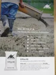 Pozzolanic Micro Silica, Packaging Size: 25 Kg, Grade: 525 Mess, 25 Micron