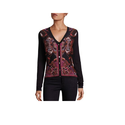 Ladies Printed Woollen Cardigans