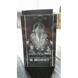 3D Engraved Ganesh