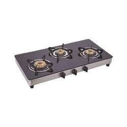 Three Burner Kitchen Gas Stove
