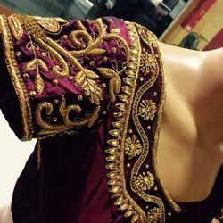 Indian Half Sleeves Wedding blouse