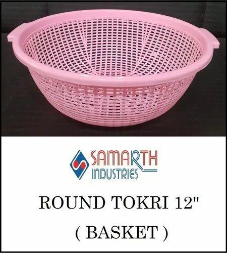 """Round Tokri 12"""" (Basket)"""