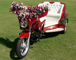 Trike For Wedding Entry, Reception
