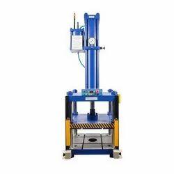 Hydropneumatic Press- 4 Ton-100 Stroke-6 mm Power Stroke- 4 Pillar Type
