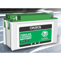 Okaya OW ER 125T 125Ah Tubular E-Rickshaw Battery