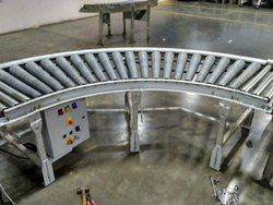 Curved Conveyor - Rollers