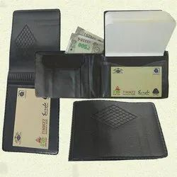 TIPTOP Leather Wallet With Pocket Notebook, Packing Size: Pack Of 6