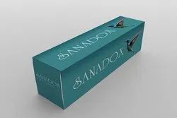 Printed Toothpaste Packaging Box