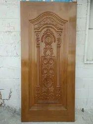 Interior Teak Wood 3D Designer Wooden Door, For Home