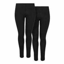 Black Ladies Plain Legging, Size: Small and Medium