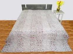 Kantha Patch Work Theme Bedcover