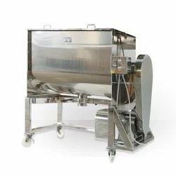 Stainless Steel Ribbon Blenders, Capacity: 100 Kg To 1000 Kg