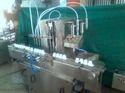 Automatic 4 Head Liquid Machine