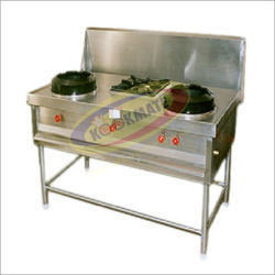 3 LPG Chinese Burner Gas Range, For Commercial