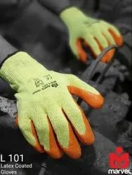 VISION Non-Sterile SAFETY GLOVES VINYL, For INDUSTIAL, Size: Free Size