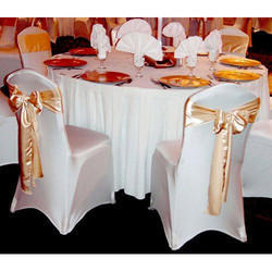 White And Golden Lycra And Velvet Wedding Chair Cover Rs 150 Piece Id 17381224055