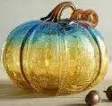 Glass Handicrafts Pumpkin, For Home, Size/dimension: 10 Inch