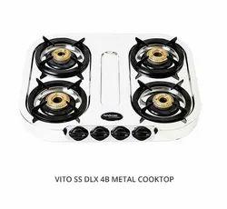 DLX 4B Hindware VITO SS Metal Cooktop