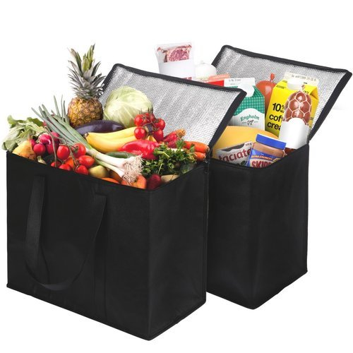 78cbdc146875 Grocery 2 Pack Insulated Reusable Grocery Bag