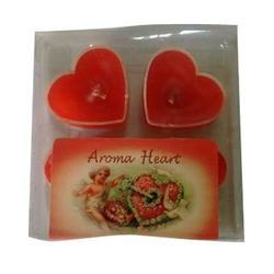 Aroma Heart Floating Candle