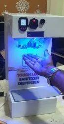 Auto Temperature Check With Auto Hand Sanitiser