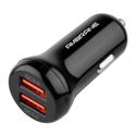 12-24v Acc-29 Qc 3.0 Dual Port Car Charger (black)