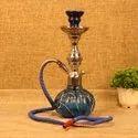 Handcrafted Metal & Glass Royal Hookah