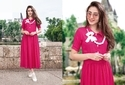 Designer Kurti With Necklace
