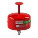 Mild Steel 5kg Kanex Make Modular Clean Agent Fire Extinguisher For Industrial